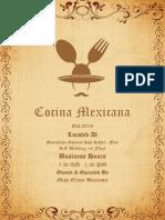 Cocina Mexicana-Elaine Baricante