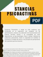 Sustancias psicoactivas
