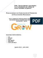 plan del proyecto grow