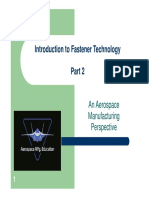 Introduction to Fastener Technology Part 2
