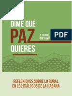 Dime Queì Paz quieres y te direì Queì Campo Cosechas.pdf
