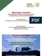 Agroecologia y Soberania Alimentaria GEA
