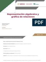 Representacion Algebraica y Grafica de Relaciones