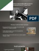 Les Influences de La Musique Traditionnelle Roumaine Sur les deux sonates de George Enesco