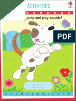 Dog Wipe Clean Dot to Dot Animals