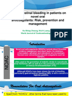Gastrointestinal Bleeding in Patients on Novel Oral