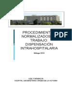 Procedimientos Normalizados de Trabajo de Dispensacion Intrahospitalaria (1)