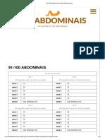 Evoluindo e Aprendendo 91-100 Abdominais _ 300 Abdominais