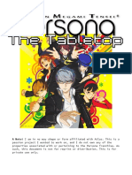 Persona Rulesbook