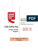 Cafe Coffee Day Marketing Strategy Part 2 Grou
