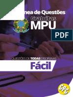 Coletânea de Questões MPU_FÁCIL