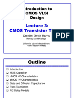 cmos design and characterstics
