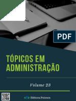 Topicos Em Administracao Vol 23