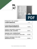 Gendex 765DC Dental X-Ray - User Manual (en,Es,Fr,Por)