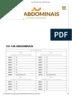 Evoluindo e Aprendendo 131-145 Abdominais _ 300 Abdominais