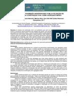 Produção de Pavimento Intertravado Com a Utilização de Resíduos Da Construção Civil Como Agregado Miúdo