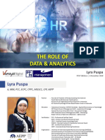 The Role of Data & Analytics - PPM