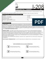 Cebek i 208 User Manual