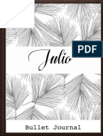 Bullet Journal Julio