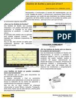 Material Analisis Aceites Utilidad Pruebas Lubricantes Condicion Estado Equipo Comportamiento Componentes Herramienta