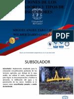 Funciones de Los Subsoladores y Clases de Subsoladores