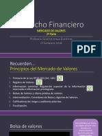 3. Derecho Financiero. Mercado de Capitales II