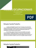Apostila - Riscos Ocupacionais
