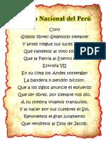 Asignacion Himno Nacional