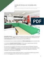 16-07-2019 Condiciones de escuelas de Sonora son revisadas ante próximo ciclo escolar-Tribuna