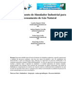 SeGet - Desenvolvimento de Simulador Industrial Para Processamento de Gás Natural - ARTIGO