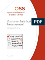 Customer Satisfaction - Literature Review - Final (1)