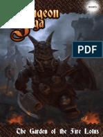 Dungeon Saga - Graden of the Fire Lotus