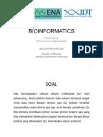 Bioinformatics Tutorial 2019