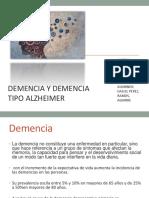 Demencia Alzheimer