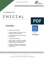 PME INICIAL - Matematica 4º Basico