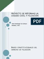 Filiacion Reformas Codigo Civil