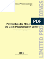 Partnerships for Modernizing the Grain Postproduction Sector