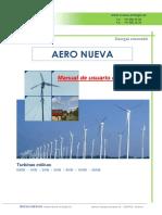 Nueva Energia Eolica Manual de usuario e instalación