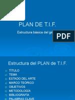 Clase 4 - Plan de TIF 2018 A