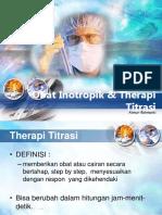 Obat Inotropik & Therapi Titrasi