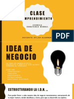 EMPRENDIMIENTO_1-Idea de Negocio y Estructura Ideologica