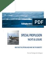 Special Propulsors - MARIN - RD - Seminar 2015