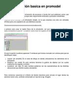 Simulación Basica en Promodel