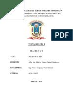 Informe 2 - Poligonación