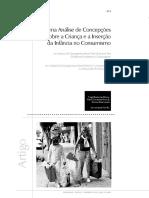 Uma Análise de Concepções Sobre a Criança e a Inserção Da Infância No Consumismo