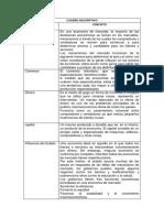 Cuadro Descriptivo Para Imprimir