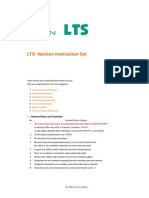 NextionLTS Instruction Set