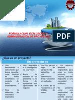 Formulacion de Proyectos de Inversion Primera Clase Mayo 2011