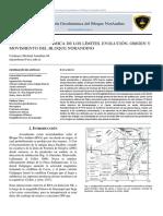 Cardenas J. 2018, Geodinámica Del Bloque NorAndino