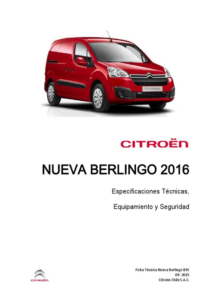 Tm  Citroen Manual De Taller Citroen Berlingo 2017